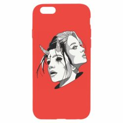 Чехол для iPhone 6/6S Girl and demon
