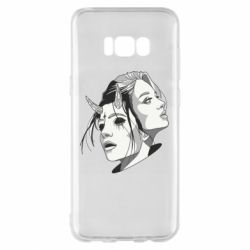 Чехол для Samsung S8+ Girl and demon