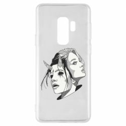 Чехол для Samsung S9+ Girl and demon
