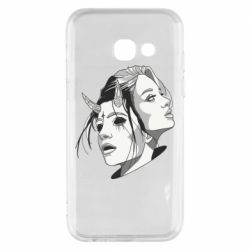 Чехол для Samsung A3 2017 Girl and demon