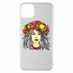 Чохол для iPhone 11 Pro Max Girl and wreath