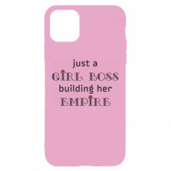 Чохол для iPhone 11 Girl boss