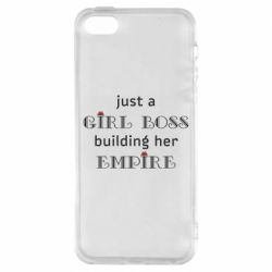 Чохол для iphone 5/5S/SE Girl boss