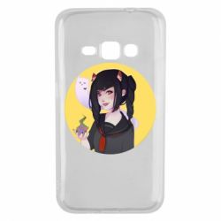 Чехол для Samsung J1 2016 Girl demon art - FatLine