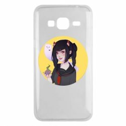 Чехол для Samsung J3 2016 Girl demon art - FatLine