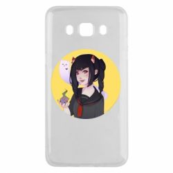 Чехол для Samsung J5 2016 Girl demon art - FatLine