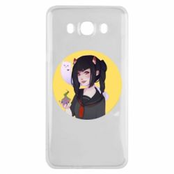 Чехол для Samsung J7 2016 Girl demon art - FatLine