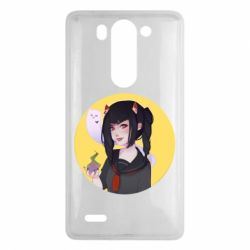Чехол для LG G3 mini/G3s Girl demon art - FatLine