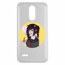 Чехол для LG K7 2017 Girl demon art - FatLine