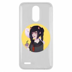 Чехол для LG K10 2017 Girl demon art - FatLine