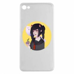 Чехол для Meizu U20 Girl demon art - FatLine