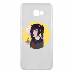 Чехол для Samsung J4 Plus 2018 Girl demon art - FatLine