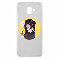 Чехол для Samsung J6 Plus 2018 Girl demon art - FatLine