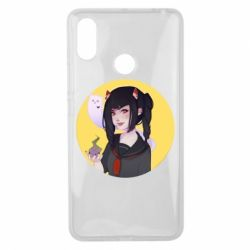 Чехол для Xiaomi Mi Max 3 Girl demon art - FatLine