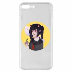 Чехол для iPhone 7 Plus Girl demon art - FatLine