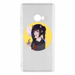 Чехол для Xiaomi Mi Note 2 Girl demon art - FatLine