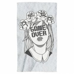 Рушник Girl Game over