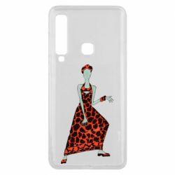 Чехол для Samsung A9 2018 Girl in a dress without a face