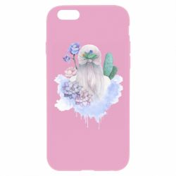 Чехол для iPhone 6/6S Girl in the clouds
