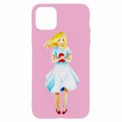 Чехол для iPhone 11 Pro Girl with a doll art