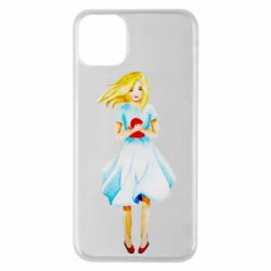 Чехол для iPhone 11 Pro Max Girl with a doll art