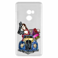 Чехол для Xiaomi Mi Mix 2 Girl with a retro car