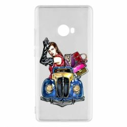 Чехол для Xiaomi Mi Note 2 Girl with a retro car