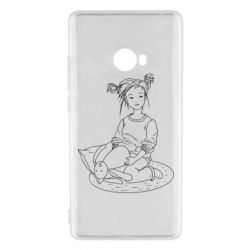 Чехол для Xiaomi Mi Note 2 Girl with a toy bunny
