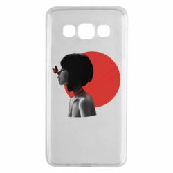 Чохол для Samsung A3 2015 Girl with butterfly