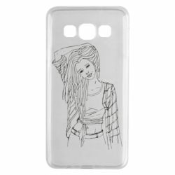 Чехол для Samsung A3 2015 Girl with dreadlocks