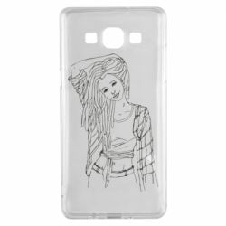 Чехол для Samsung A5 2015 Girl with dreadlocks