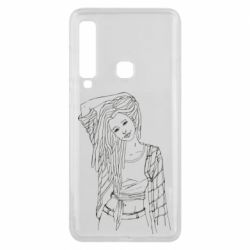 Чехол для Samsung A9 2018 Girl with dreadlocks