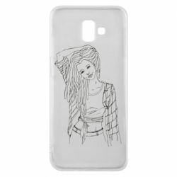 Чехол для Samsung J6 Plus 2018 Girl with dreadlocks