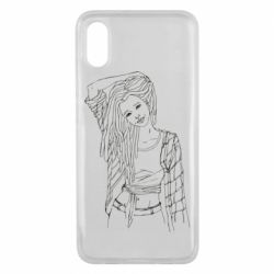 Чехол для Xiaomi Mi8 Pro Girl with dreadlocks