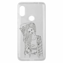 Чехол для Xiaomi Redmi Note 6 Pro Girl with dreadlocks