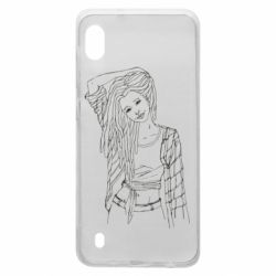 Чехол для Samsung A10 Girl with dreadlocks