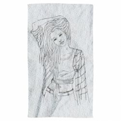 Полотенце Girl with dreadlocks