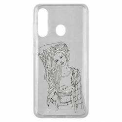 Чехол для Samsung M40 Girl with dreadlocks