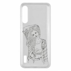 Чохол для Xiaomi Mi A3 Girl with dreadlocks