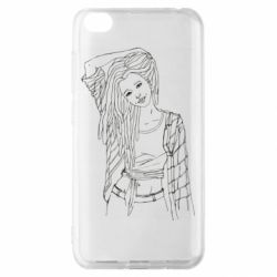 Чехол для Xiaomi Redmi Go Girl with dreadlocks