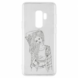 Чехол для Samsung S9+ Girl with dreadlocks