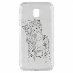 Чехол для Samsung J3 2017 Girl with dreadlocks