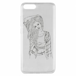Чехол для Xiaomi Mi Note 3 Girl with dreadlocks