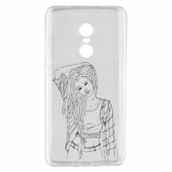 Чехол для Xiaomi Redmi Note 4 Girl with dreadlocks