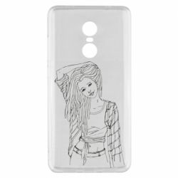 Чехол для Xiaomi Redmi Note 4x Girl with dreadlocks