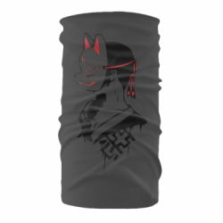 Бандана-труба Girl with kitsune mask