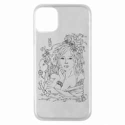 Чохол для iPhone 11 Pro Girl with threads