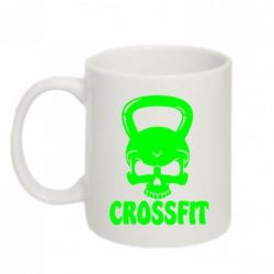 Кружка 320ml Гиря CrossFit - FatLine