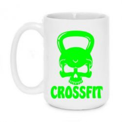 Кружка 420ml Гиря CrossFit - FatLine