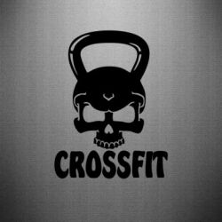 Наклейка Гиря CrossFit - FatLine